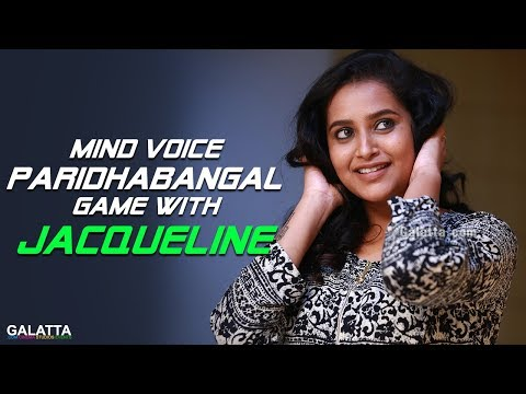 Mind Voice Paridhabangal Game with VJ Jacqueline | Kalakapovathuyaru | KPY
