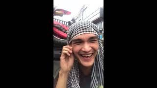 Mạc Văn Khoa, Huỳnh Phương, Anh Tú đi đội lễ cực lầy lội
