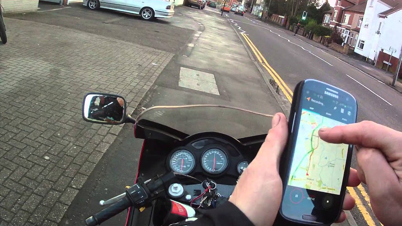 Motorcycle App 'My Tracks'