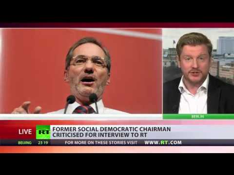 Looking for Boogeyman: Frmr German Social Democratic chairman criticized for RT interview