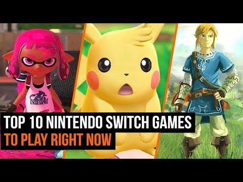 Top 10 Nintendo Switch Games To Play In 2019 So Far
