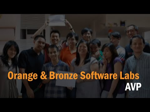 Orange & bronze Software Labs AVP