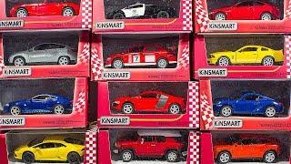 КРУТЫЕ ТАЧКИ! Большая распаковка и обзор машинок Kinsmart. Игрушки. Копии машинок (Часть 4)