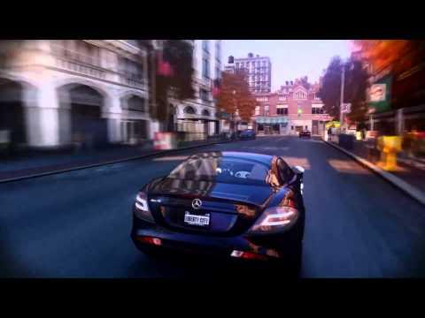 GTA IV - Mercedes Benz SLR Mclaren - SNL...