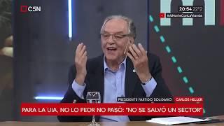 07-12-2018 - Carlos Heller en C5N – M1, con Gustavo Sylvestre - G20: el entusiasmo duró poco
