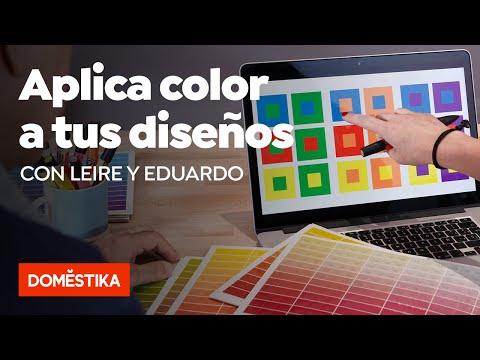 El color aplicado al diseño gráfico – Curso online de Leire y Eduardo