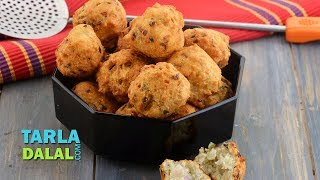 Rava Bonda Recipe by Tarla Dalal