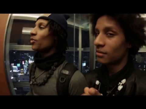 LES TWINS  interview in Tokyo hotel \ video 2013