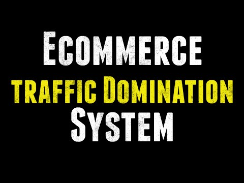 E-Commerce Traffic Domination Formula