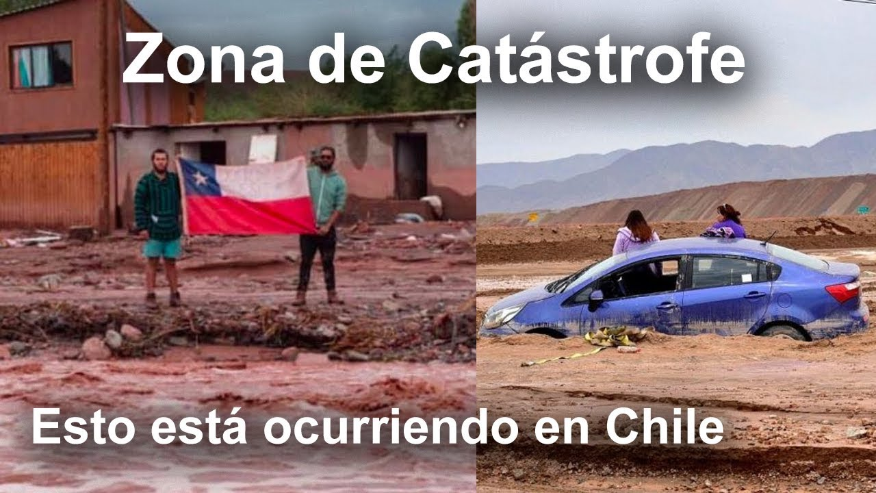 Zona de Catástrofe en Chile