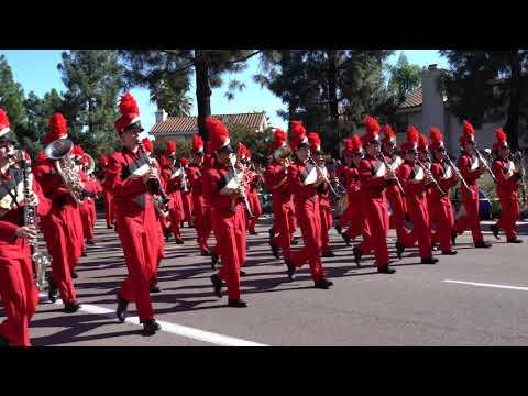 Mount Carmel High School - Parade - at Mira Mesa 2018