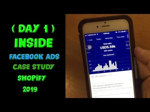 Facebook Ads DAY TO DAY - Shopify Dropshipping 2019 (Day One) thumbnail
