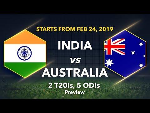 Cricbuzz LIVE panel previews Australia's tour of India