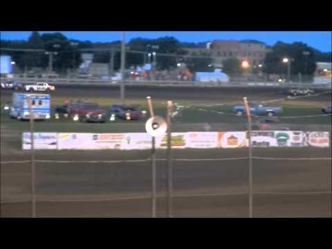 nielsen racing Algona Raceway 8-24-13