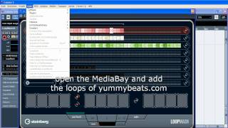 YB #6: Loop Mash (Tutorial) & making a Neptunes Hip Hop Beat - Cubase 5