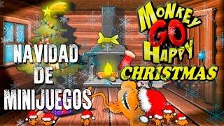 UN MONO FELIZ | MONKEY GO HAPPY CHRISTMAS | NAVIDAD DE MINIJUEGOS