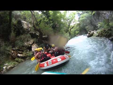 Rafting Lousios & Vrontou Waterfall