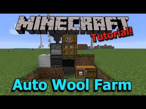 Minecraft: Fully Automatic 16-in-1 Wool Farm [1.14 Ready]
