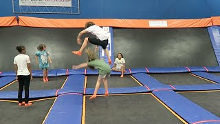 Jumping Over Kids With Ross Creations!