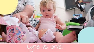 Lyra Is One! First Birthday | The Thomas Way