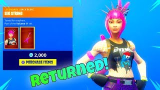 POWER CHORD is BACK! (New Item shop) Fortnite Battle Royale