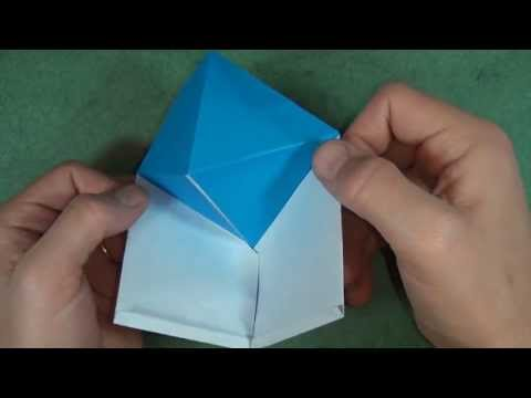 Origami Pop-up Pyramid Greeting Card by Jeremy Shafer