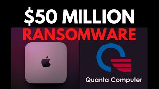 Apple Supplier Hacked by REVIL Ransomware: Live Demo & Analysis