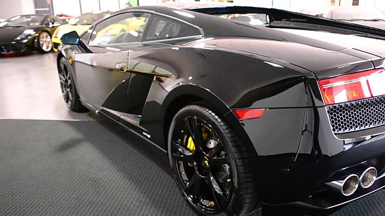 2014 Lamborghini Gallardo LP550 2 Nero Noctis ELA13765 - YouTube
