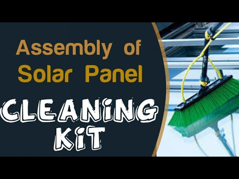 Assembly Video of Unger Solar Panel Cleaning Kit - Kenbrook Solar