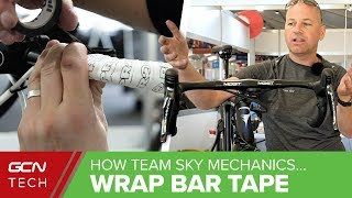 How To Wrap Bar Tape Like A Team Sky Pro Mechanic