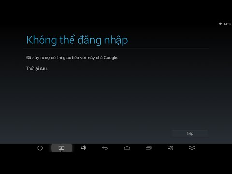 [VNTVBOX.COM]Sửa lỗi sự cố với máy chủ Google không thể đăng nhập