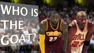 LeBron James vs. Michael Jordan | Who is the G. O. A. T?