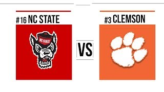 Week 8 2018 #16 NC State vs #3 Clemson Full Game Highlights
