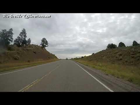 Farmington, NM To Chama, NM Through The Jicarilla Apache Reservation