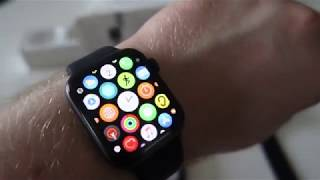 Apple Watch Series 5 44MM Space Grey - Unboxing and Set Up