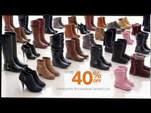 3afb16b4c28 Payless Shoes: Boot Sale 40% Off - YouTube