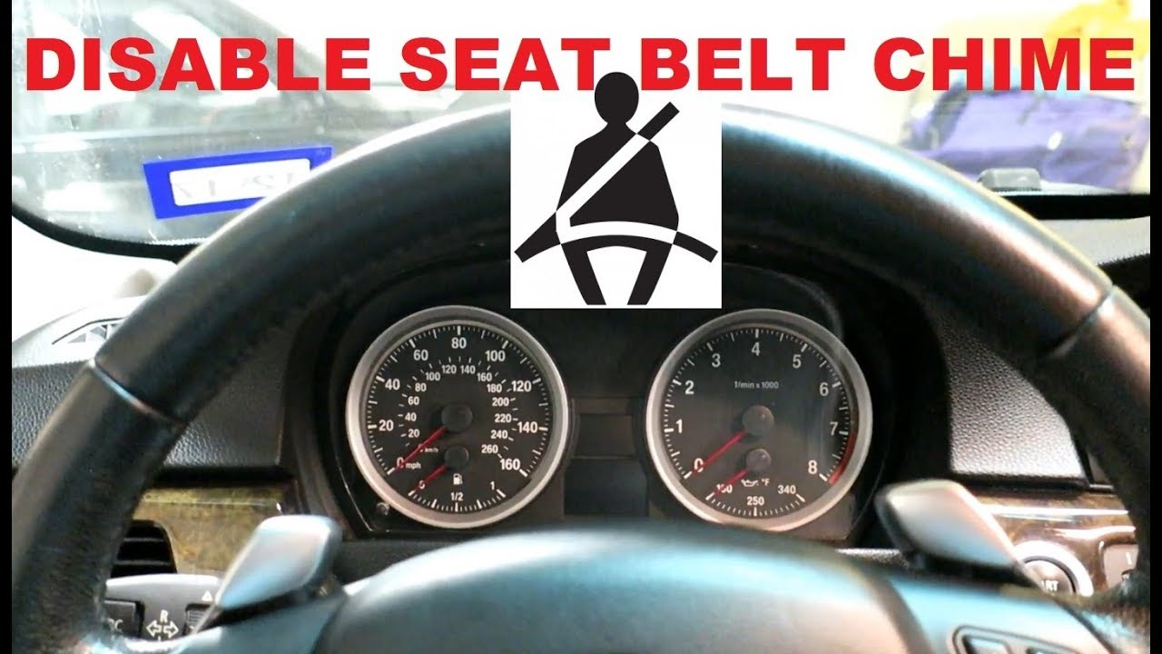 How To Disable Seat Belt Warning On E90 BMW **Coding**