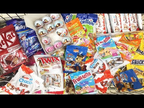 A Lot Of Candy 2018 NEW #51 Киндер...