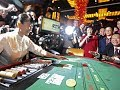 Baccarat Million betting per Game by a Chinese women - YouTube