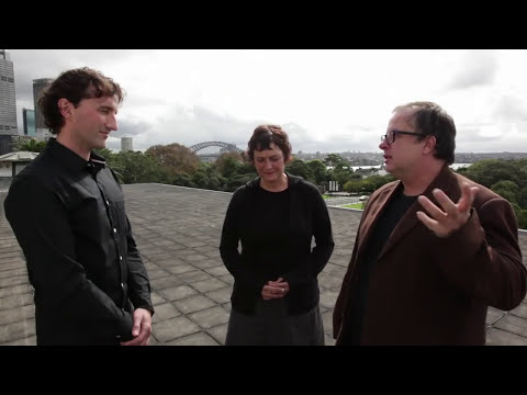 Unguided tours - Artists, David Haines & Joyce Hinterding on their work