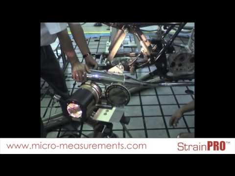 Photostress® to Determine Stress Distribution on a Motorcycle Frame – Demo Video