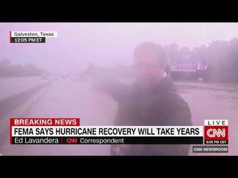 Hurricane in Houston - breaking news