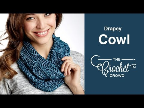 How to Crochet A Cowl for Beginners