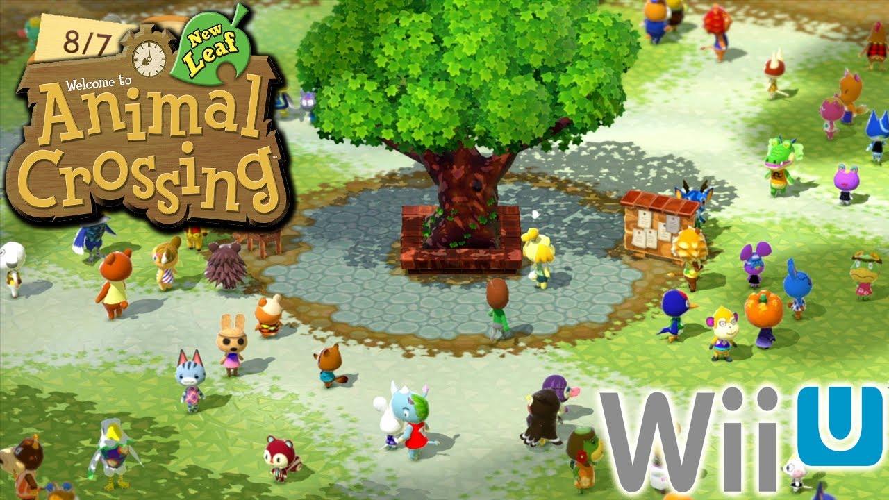 Animal Crossing New Leaf Wallpaper Qr Animal Crossing Wii U Plaza Nintendo 3ds Community Youtube