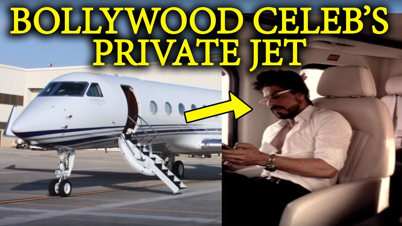 Bollywood Stars     Private Jet      YouTube