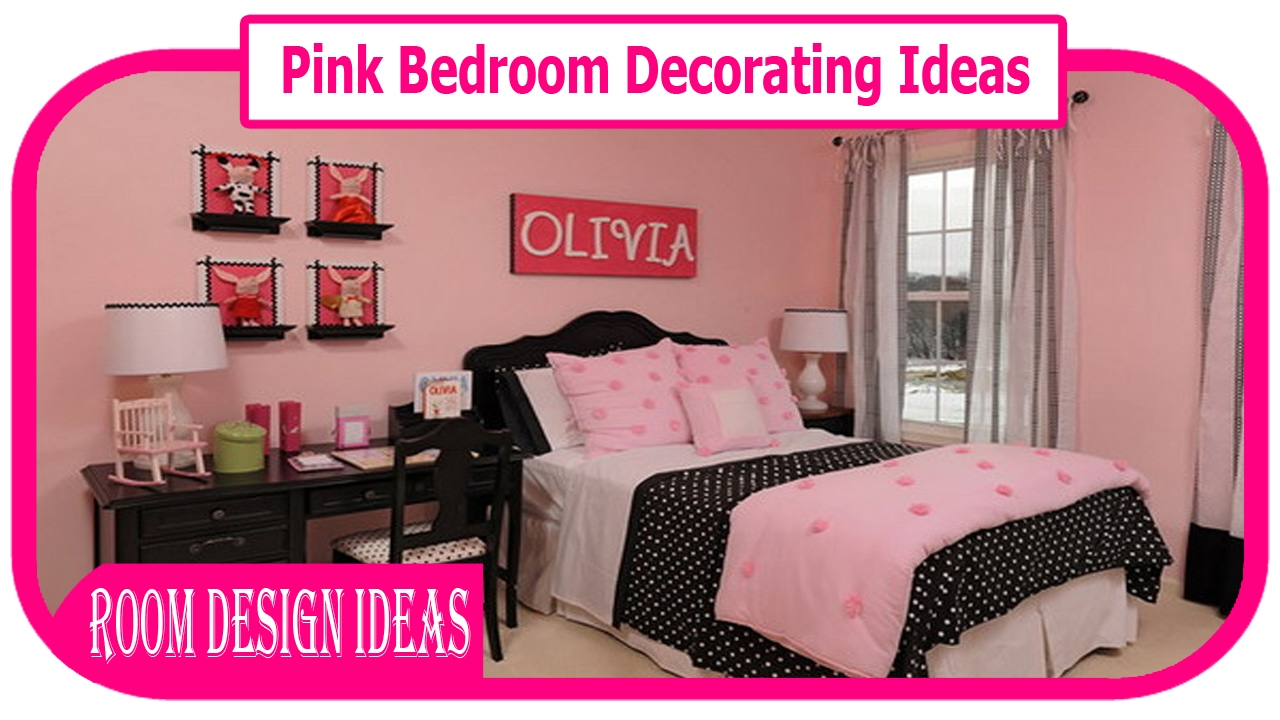Pink Bedroom Decorating Ideas   Pink And Brown Bedroom Decorations Ideas