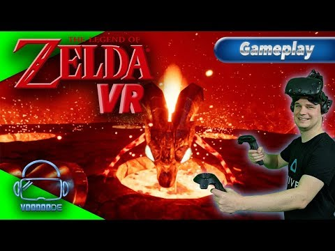 The Legend of Zelda in VR!! - Packt das Schwert aus! [Let's Play][Gameplay][Vive][Virtual Reality]