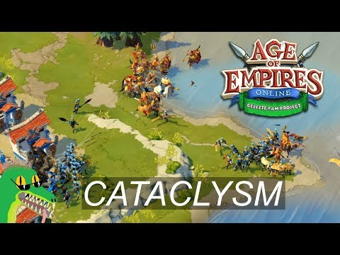Age Of Empires Online Project Celeste - Legendary Impossible Cataclysm - Greeks