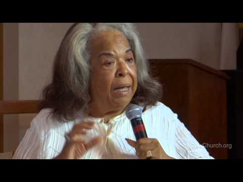 """""""Financial Security""""   Minister Della Reese  Up Church."""