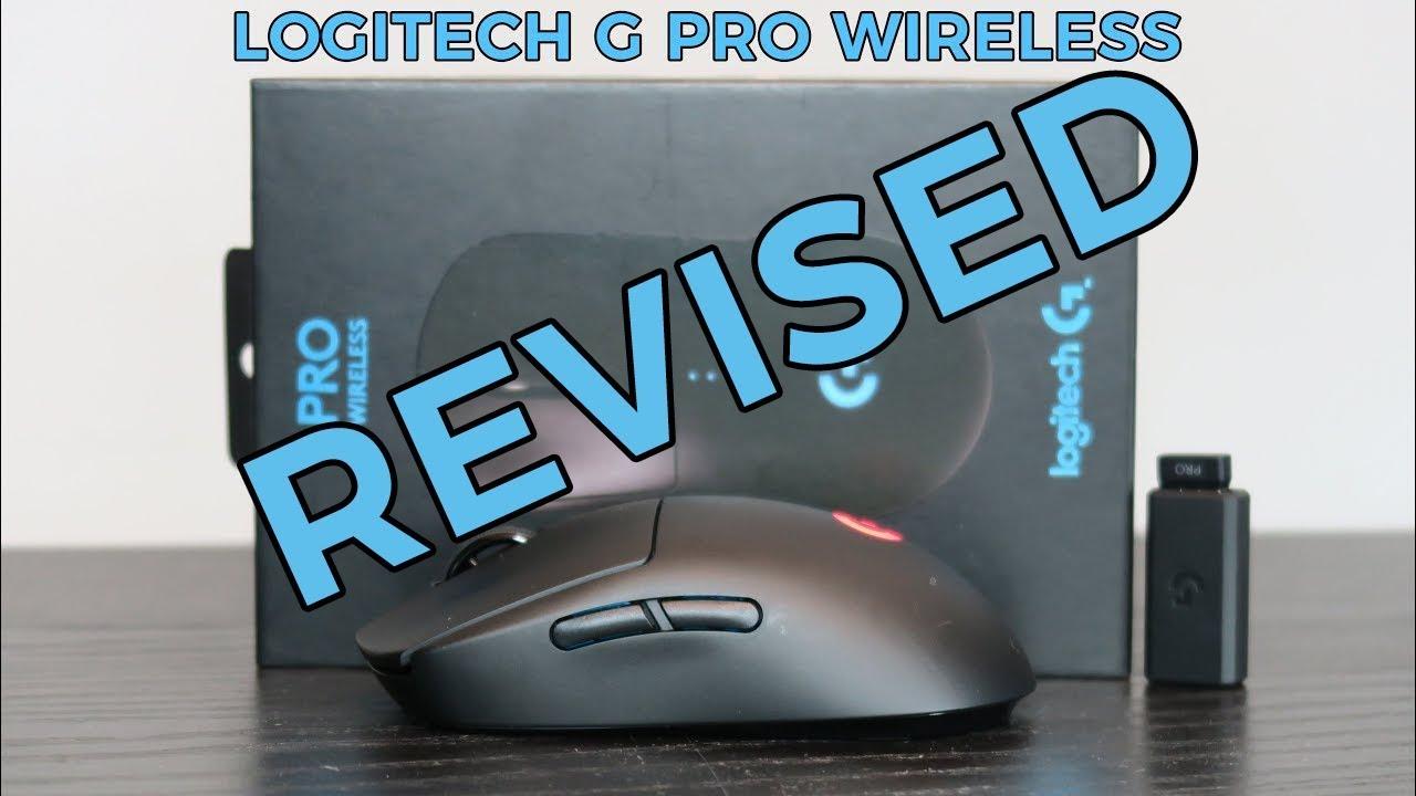 da772ea7810 LOGITECH G PRO Wireless Gaming mouse - review - YouTube